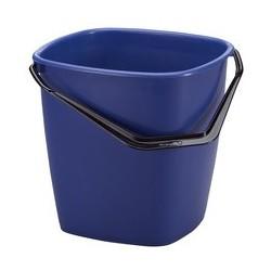 Durable seau de nettoyage, 9,5 litres, rectangulaire, bleu