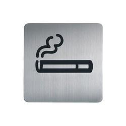 """Durable pictogramme picto """"wc hommes"""", carré, en acier"""