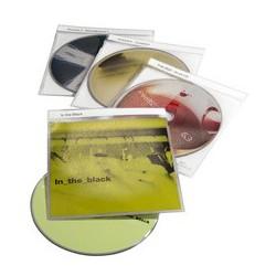 "Durable etuis cd-/dvd ""top cover"" pour 1 cd, pp, transparent"