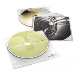 Durable etuis cd/dvd  cover pour 1 cd, pp, transparent,