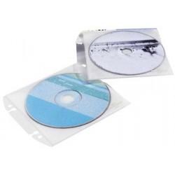 Durable pochette cd/dvd cover easy, en pp, transparente,