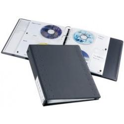 Durable classeur á anneaux cd/dvd index 40, pour 40 cd