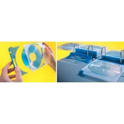 Durable boîtier standard cd/dvd quickflip, avec mécanisme à