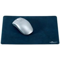 Durable tapis de souris, extra plat, bleu foncé marbré