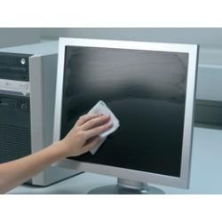 Durable lingettes nettoyantes pour écran screenclean duo