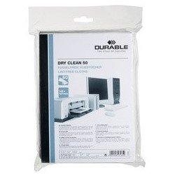 Durable lingettes dry clean 50 non-tissées, 145 x 197 mm
