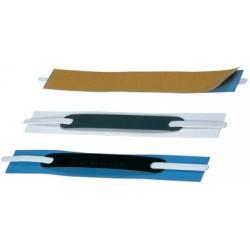Durable attaches flexifix, autocollant, blanc, avec repères