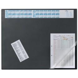 Durable sous-main avec calendrier annuel, gris