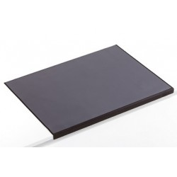 Durable sous-main avec protection des bords, noir
