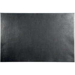 Durable sous-main cuir, 650 x 450 mm, noir