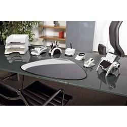 Durable dévidoir de table tape dispenser vegas, noir/argent