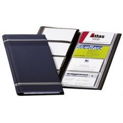 Durable album pour cartes de visite visifix, plastique mat