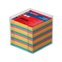 Herlitz boîtier pour bloc-notes en plastique, transparent,