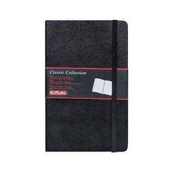 Herlitz carnet de notes my.book classic, a5, 192 pages, noir