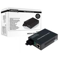 Digitus convertisseur média fast ethernet, rj45/sc, monomode
