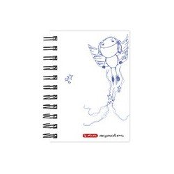 "Herlitz carnet à spirale ""my.notes"", format a6, 100 pages,"