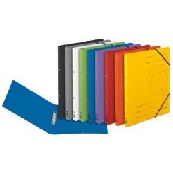 Herlitz classeur à anneaux easyorga, a4, colorspan-carton