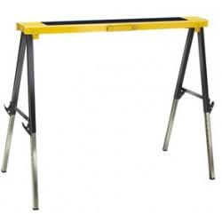 Brennenstuhl tréteau pliant mb 120 kh, noir/jaune