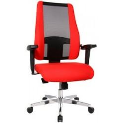 "Topstar fauteuil de bureau ""air synchro"", rouge"