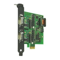 W&t carte pci express 2xrs232/422/485, isolation galvanique