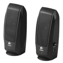 Logitech oem système de haut-parleurs s120 2.0, noir