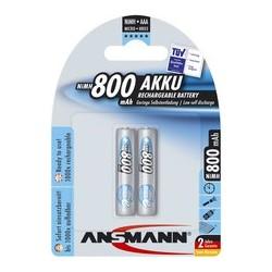 Ansmann pile nimh maxe, micro (aaa), 800 mah, blister de 2