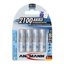 Ansmann pile nimh maxe, mignon (aa), 2.100 mah, blister de 4