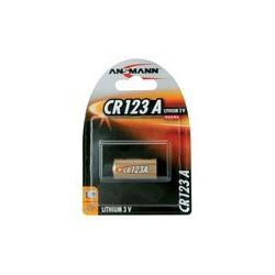 """Ansmann pile pour appareil-photo lithium """"cr123a"""", 3 volt,"""