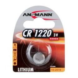 """Ansmann pile bouton en lithium """"cr1220"""", 3,0 v, blister d'1"""