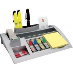 Post-it bureau organiseur, argent, équipé