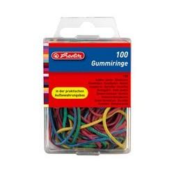 Herlitz bracelets caoutchouc, couleurs assorties, tailles