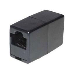 Shiverpeaks adaptateur modulaire-in-line, rj45, noir
