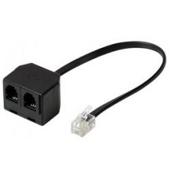Shiverpeaks basic-s y-adaptateur pour combiné téléphonique