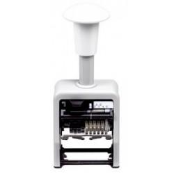 Rexel numéroteur automatique, 6 chiffres, noir
