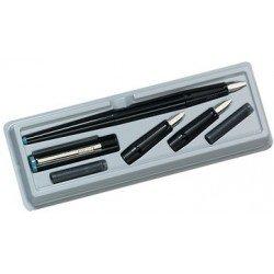 Herlitz kit de calligraphie, 5 pièces, noir