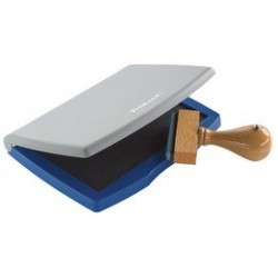Pelikan tampon encreur taille 2e, (l)110 x (p)70 mm, bleu