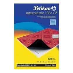 Pelikan papier carbone interplastic 1022 g, 10 feuilles