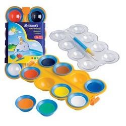 Pelikan boîte de peinture pour enfants, 8 couleurs