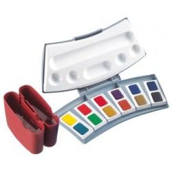Pelikan boîte de couleurs aquarelles d'études 725 d/12,
