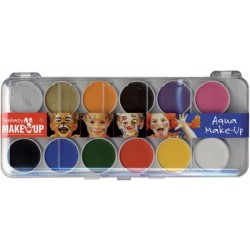 "Kreul coffret de maquillage ""fantasy make up"", 12 couleurs"