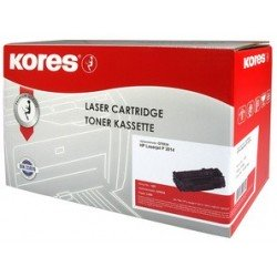 Kores toner g1104rb remplace hp c8061x, noir