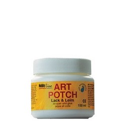 Kreul vernis & colle pour serviette art potch, mate, 750 ml