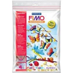 """Fimo moule pour pâte """"papillon"""", 9 motifs, 1 pièces,"""