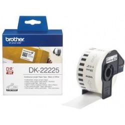 Brother dk-22225 papier étiquette en continu, 38mm x 30,48 m