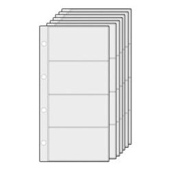 Alassio pochettes pour classeur cartes de visite