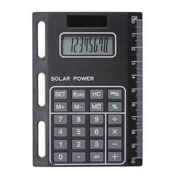 Bind calculatrice solaire modell 1020, avec perforation