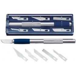 Wedo cutter de bricolage, longueur: 150 mm, incl. 6 lames