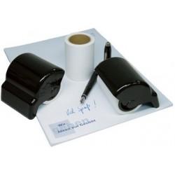 Wedo rouleau effaceur en plastique de haute qualité, noir