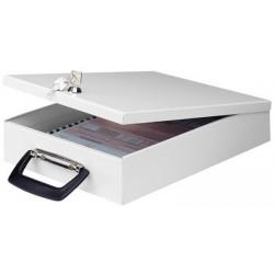 Wedo porte-documents, format a4, avec poignée de valise