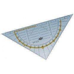 Wedo equerre géométrique standard, hypoténuse 160 mm,